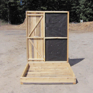Deer Box Blinds for Bow & Rifle Hunting - Productive Cedar Products