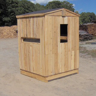 Hunting Stand Designs : Hunting deer blinds & cedar wood hunting blind kits productive
