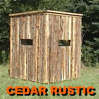 Cedar Deer Hunting Blinds For Sale Productive Cedar Products