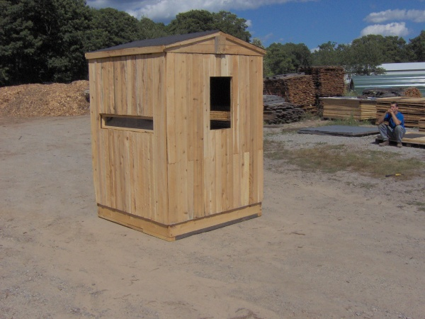 Bow Amp Rifle Hunting Box Blinds Productive Cedar Products