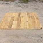 Cedar Rustic Deer Blind Floor