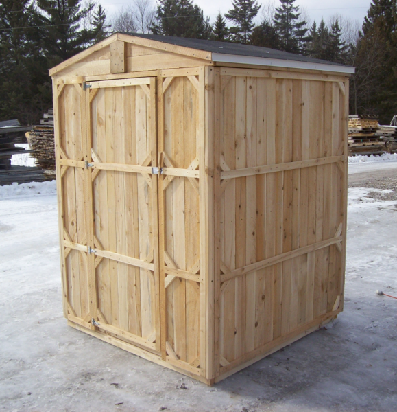 Small Cedar & Wooden Sheds - Productive Cedar Products