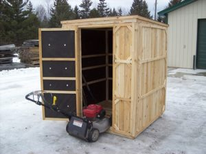 Outdoor Wooden Sheds - Productive Cedar Products