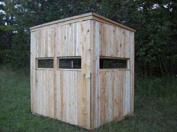 two seater deer blind from Productive Cedar Products
